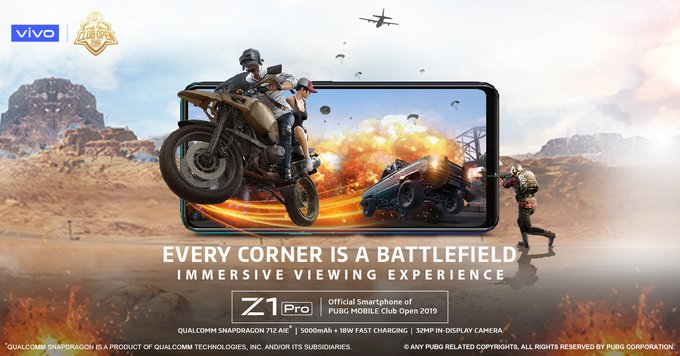 Vivo Z1 Pro gaming features