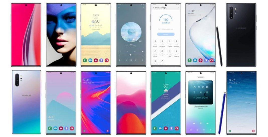 Samsung Galaxy Note 10 vs Note 9