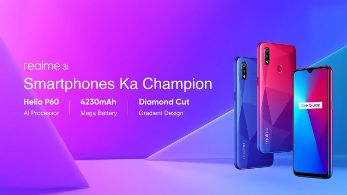 Realme 3i launched in India