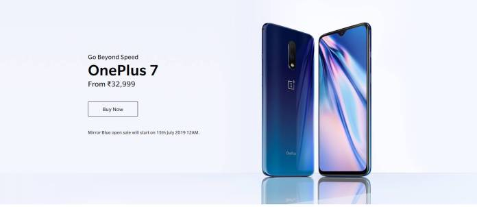 OnePlus 7 Mirror Blue to arrive on July 15