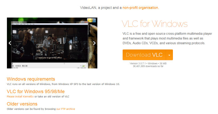 VLC security flaw