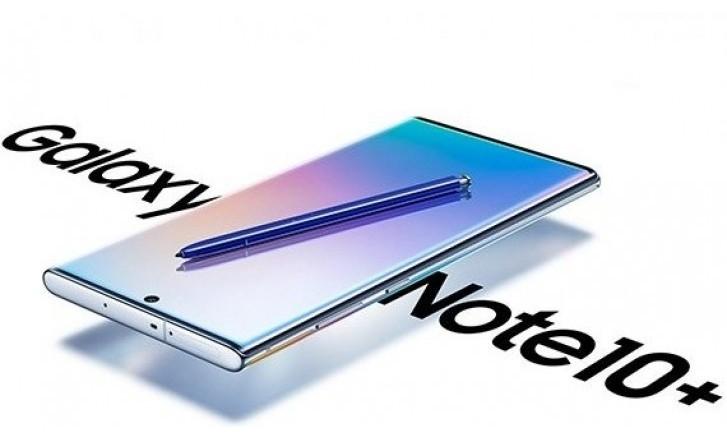 Samsung Galaxy Note 10+ vs Samsung Galaxy Note 9