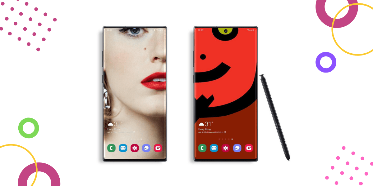 30 Best Galaxy Note 10 Note 10 Plus Wallpapers For
