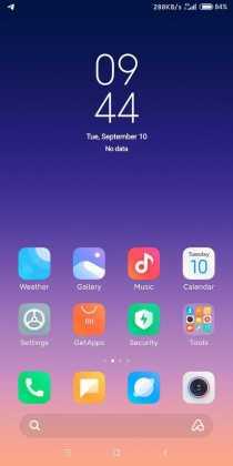 MIUI 11 icons