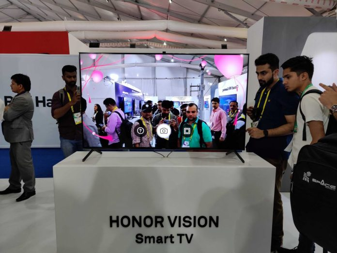 Honor Vision Pro unveiled at Indian Mobile Congress 2019