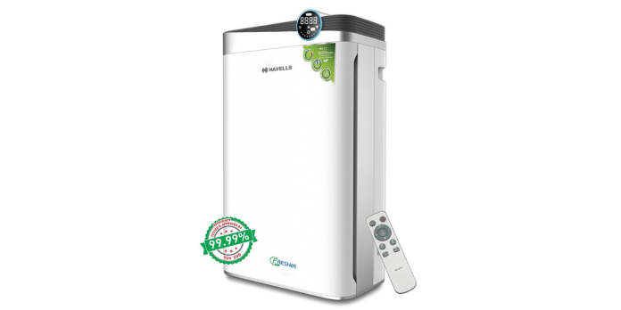 Havells unveils Freshia range of air purifiers in India