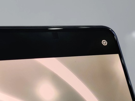 Oppo under-display selfie camera phone prototype