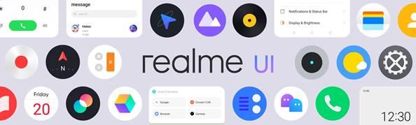 Realme UI features