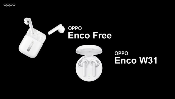 OPPO Enco Free and OPPO Enco W31 launched in India