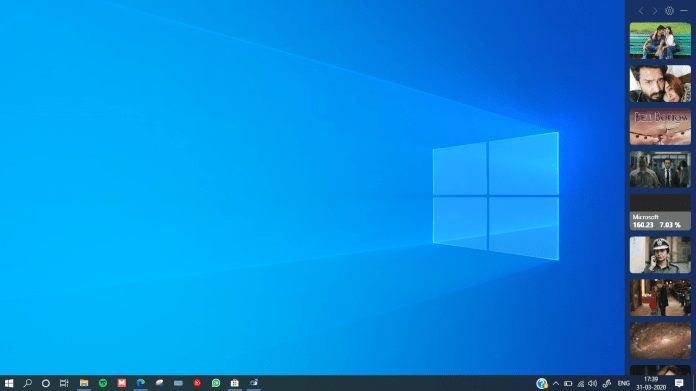 How to get News Bar on the Windows 10 Desktop
