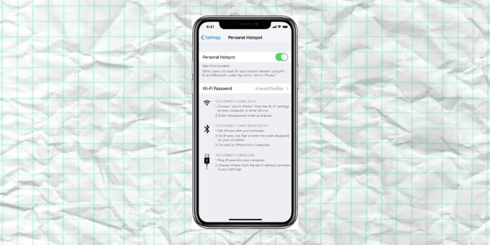 Fix Apple Personal Hotspot