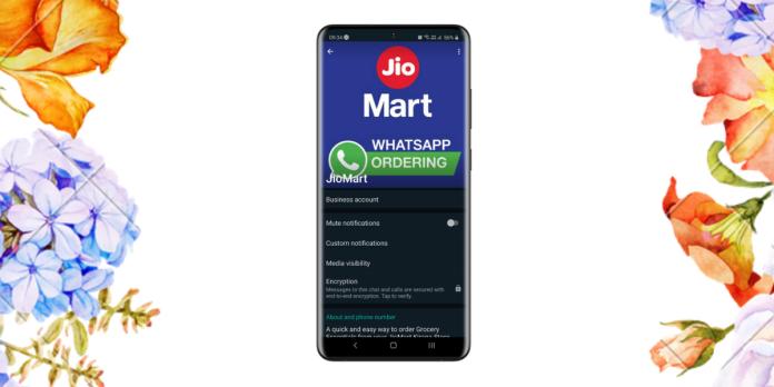 How to order from JioMart through WhatsApp