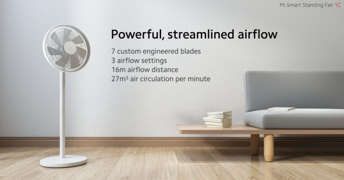 Xiaomi unveils Mi Smart Standing Fan 1C 1
