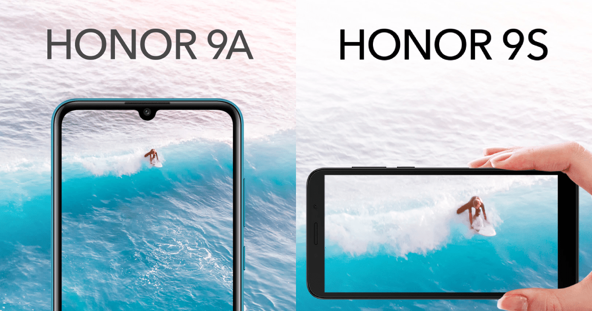 Honor 9A and Honor 9S launched in India for Rs. 8,999 and Rs ...