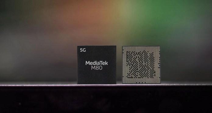 MediaTek M80 goes official