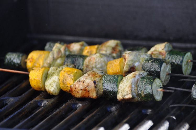 Nightshade Free Minty Chicken Zucchini Kebabs Recipe