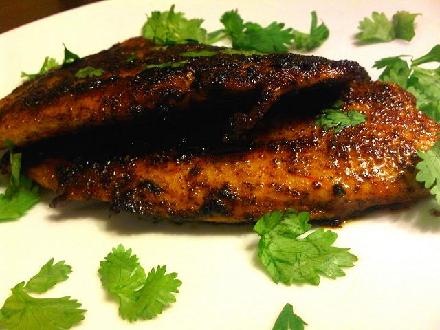 Nightshade free Blackened Tilapia Recipe