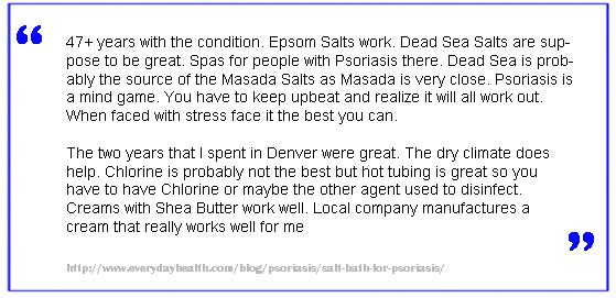 Epsom Salt Psoriasis 4