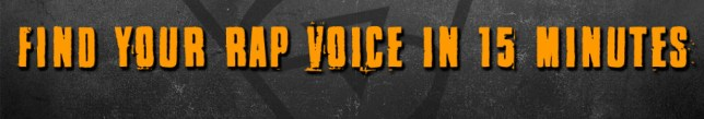 rap voice