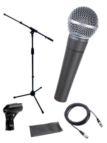 shure microphone for singing