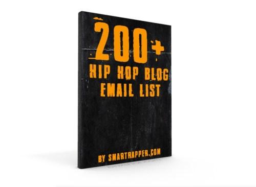 hip hop blog email list