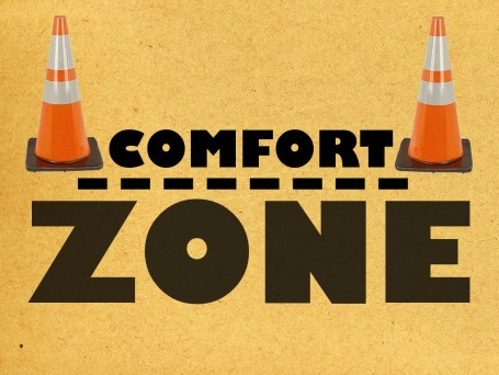Comfort zone for rappers in the booth