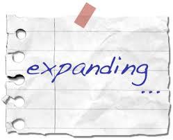 expanding