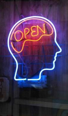 rap artist rappers open mind neon sign