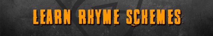 Learn Rhyme Schemes