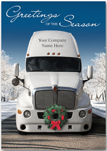 Automotive Holiday Cards Trucking Holiday Cards