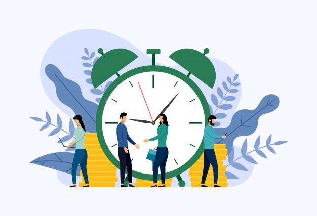 Es mucho más fácil predecir el trabajo que puedes hacer en un número determinado de horas