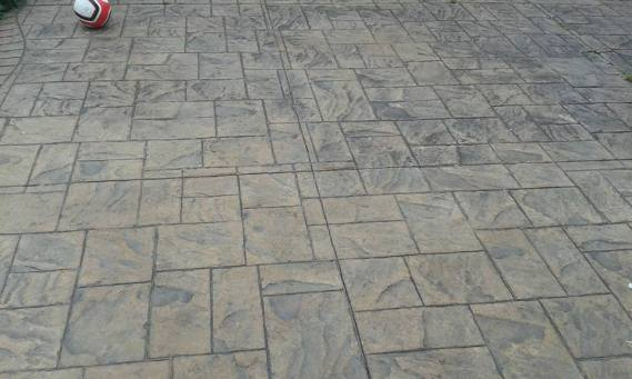 Resealing and Refurbishment of Pattern Imprinted Concrete.