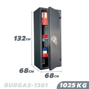 1025 KG BURGAS 1361 Grade 5 Safe, Certified Safe Graded