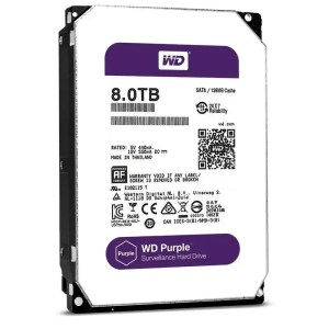 This is a picture of the WD Hard drive purple 8TB provided by Smart Security in Lebanon