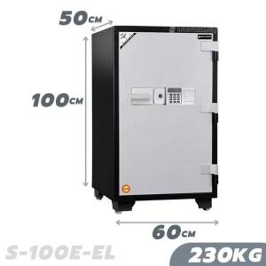 230KG Fireproof Home & Business Safe Box S-100EL
