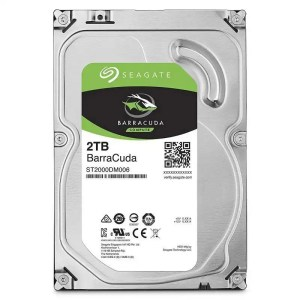 Seagate BarraCuda Internal Hard Drive 2TB SATA 6Gb/s 64MB