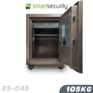 This is a picture of the Eagle safe ES 045105KG Fireproof Home & Business Safe Box open