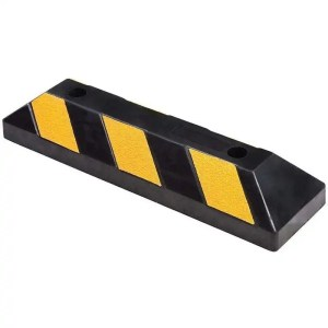 This is a picture of the PARKING block RUBBER TIRE STOPPER B Size provided by Smart Security in Lebanon_2