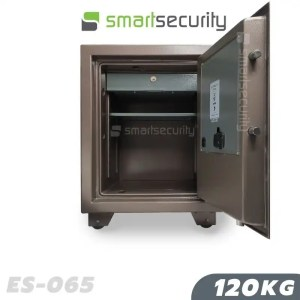 This is a picture of the Eagle safe ES 065120KG Fireproof Home and Business Safe Box open