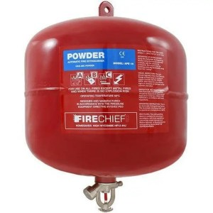 This is a picture of the 10 KG Automatic Fire Extinguisher provided by Smart Security in Lebanon