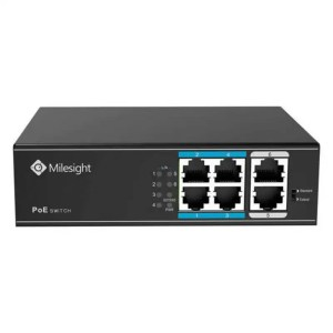 MS-S0204-EL Milesight PoE Switch 4 Port