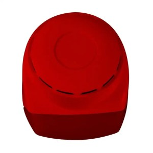 SF 105 indoor conventional piezo siren with red flash