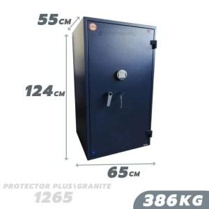 386 KG VALBERG PROTECTOR PLUS / GRANITE 1265 ANTI-BURGLARY SAFE GRADE I