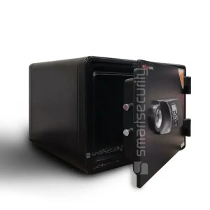 This sis a image of the Eagle safe YES-M015 25KG Fireproof Home Business Safe Box open