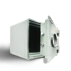 This is a picture of the Eagle safe YES M020 30KG Fireproof Home Business Safe Box open