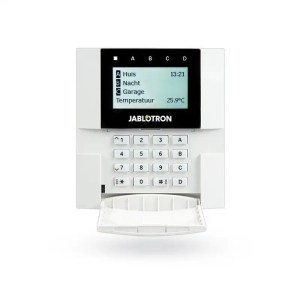 Jablotron JA-110E BUS wired Keypad with LCD and RFID