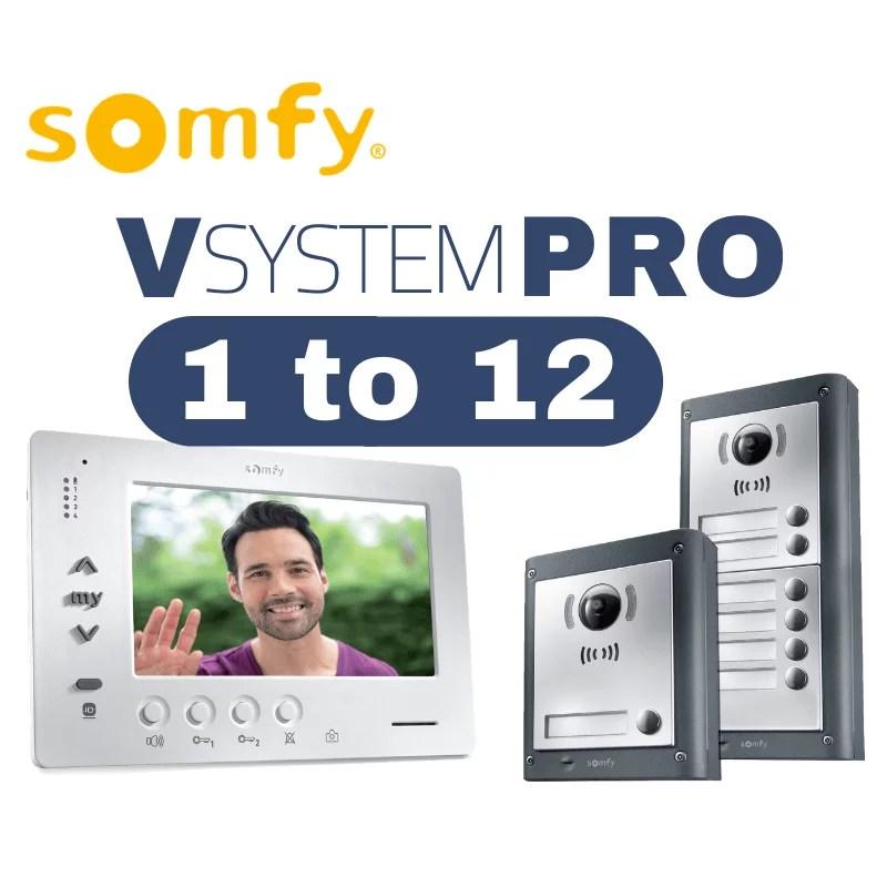 somfy intercom vsystempro