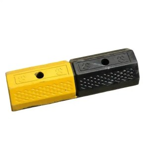 This is a picture of the RUBBER TIRE STOPPER parking block provided by Smart Security in Lebanon_1
