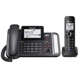 2 -Line Corded/Cordless Expandable Link2Cell Telephone