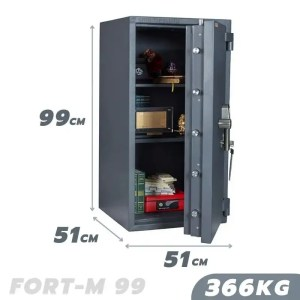 366 KG VALBERG FORT-M 99 FIRE AND BURGLARY RESISTANT SAFE GRADE III